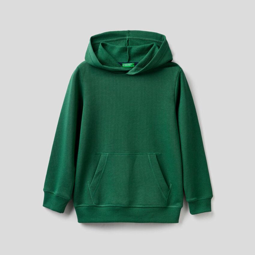 Dark green hoodie