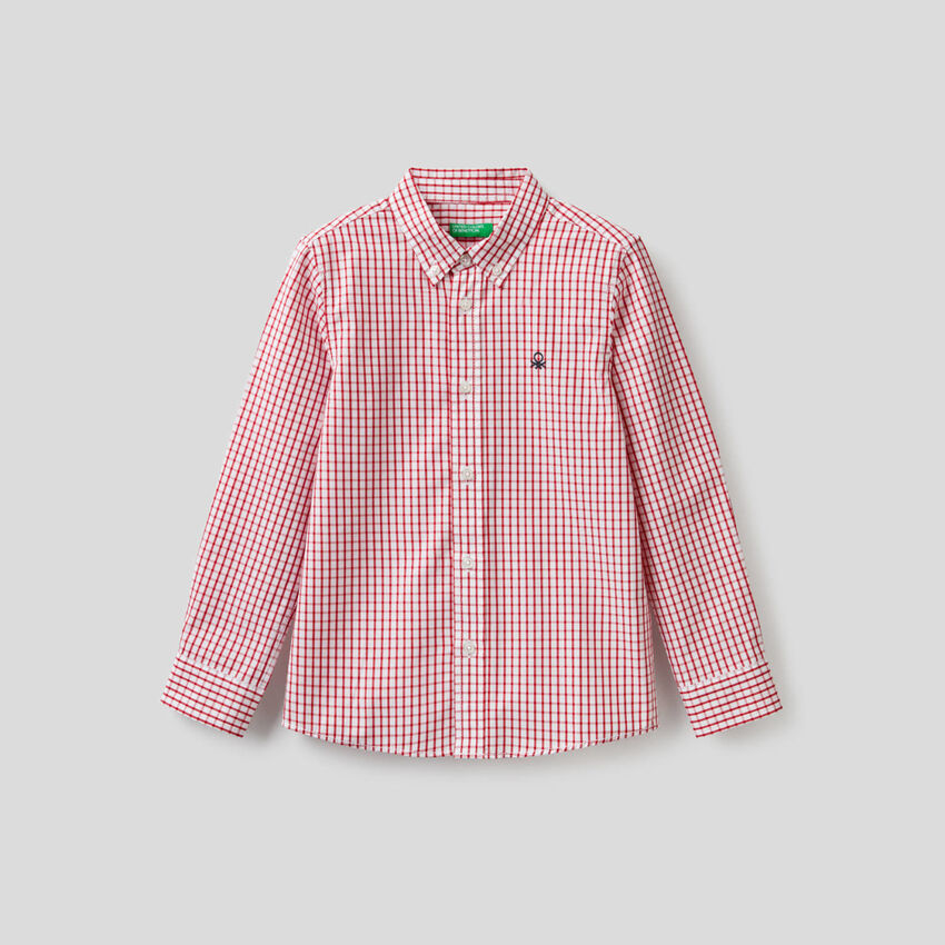 Sporty 100% cotton shirt