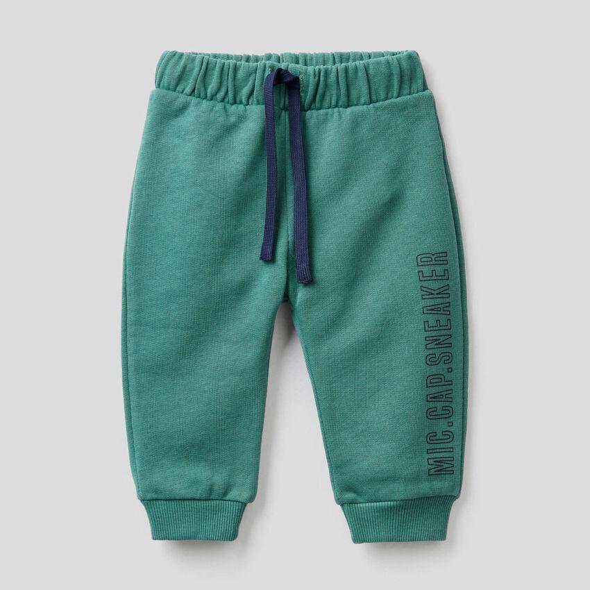 Sweatpants in organic cotton