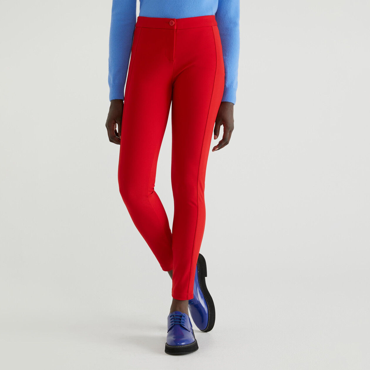Bi-stretch jeggings