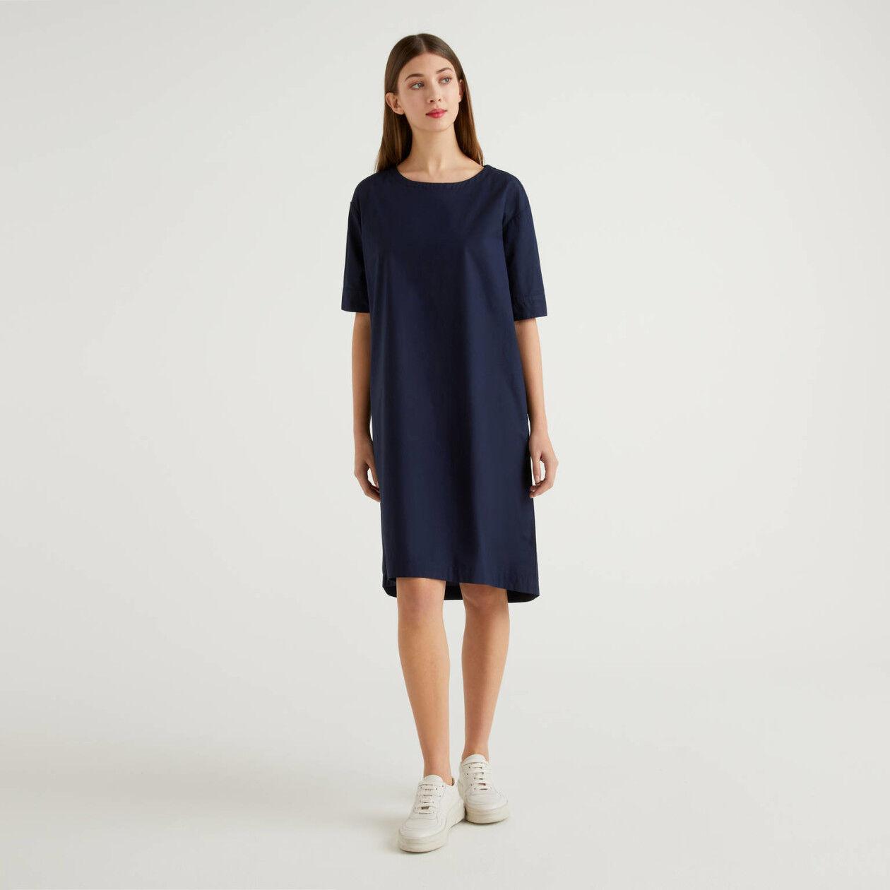 100% cotton loose dress