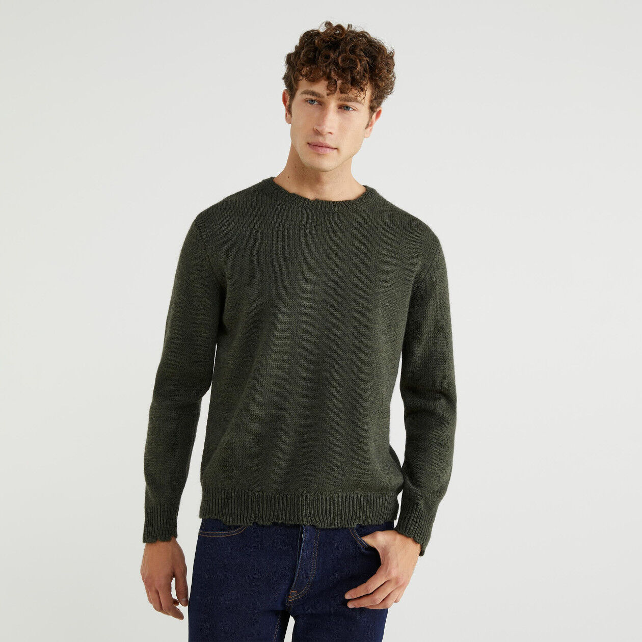 Alpaca blend sweater