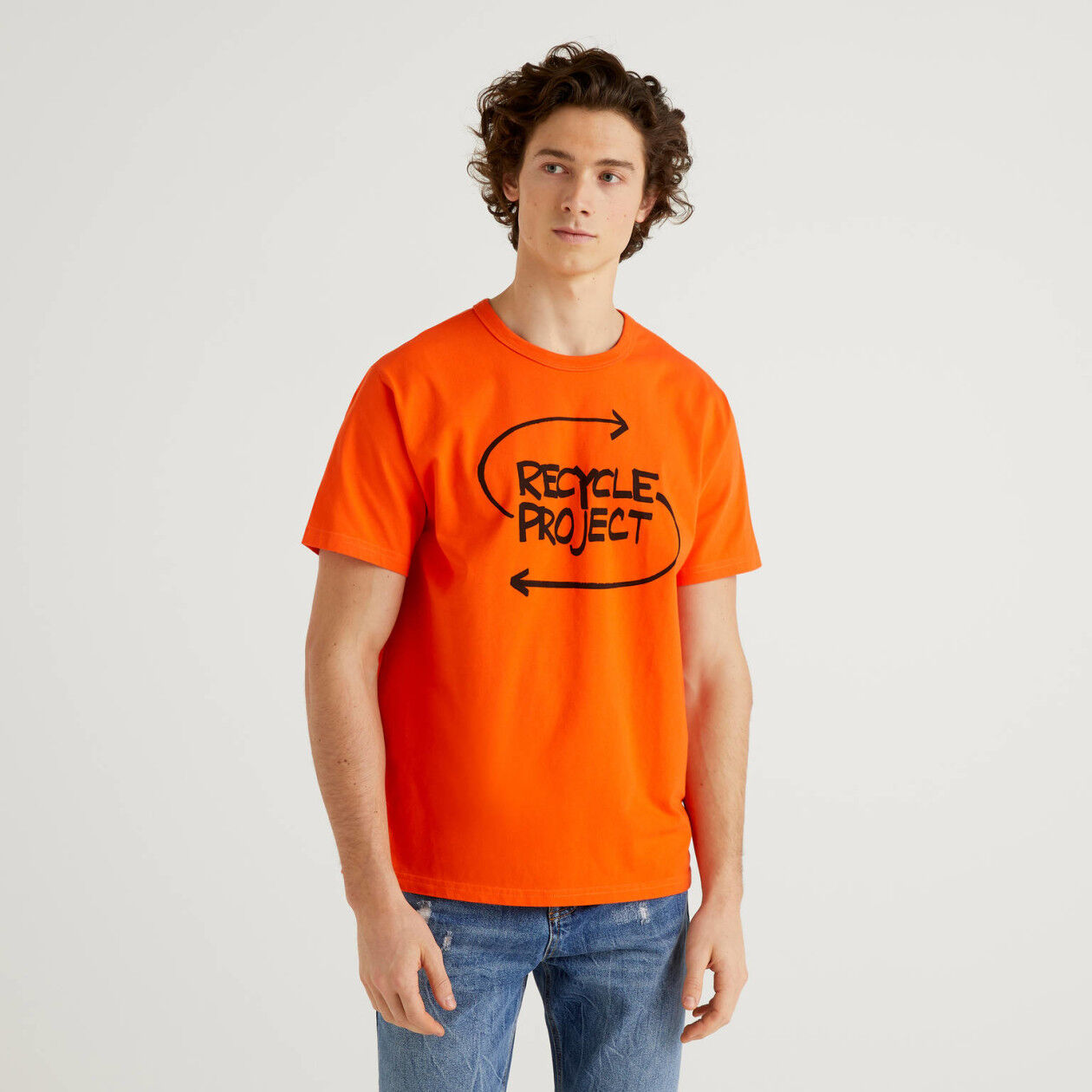 100% organic cotton t-shirt with print
