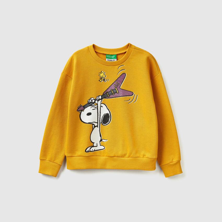 "Sweatshirt with ""Snoopy"" print"